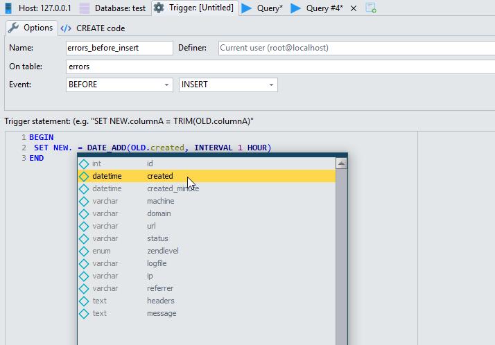 TRIGGERS IN MYSQL EPUB