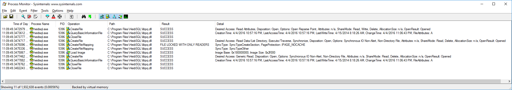 Cannot find a usable libpq dll