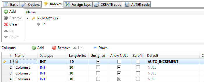 Primary key and auto increment - Sql create table auto increment ...